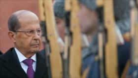 Presidente libanés condena decisión ilegal de EEUU sobre el Golán