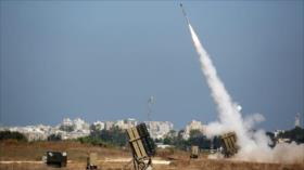 Cohete palestino burla Cúpula de Hierro de Israel