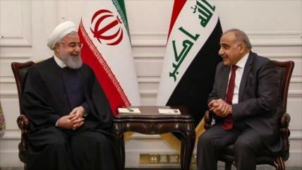 Irán e Irak defienden sus relaciones 'estratégicas e históricas'