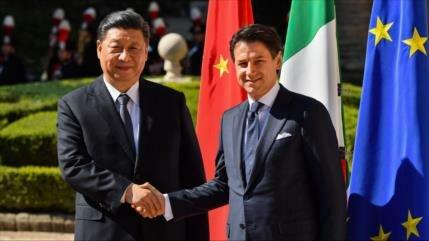 Italia afirma que varios países de UE van a firmar pacto con China