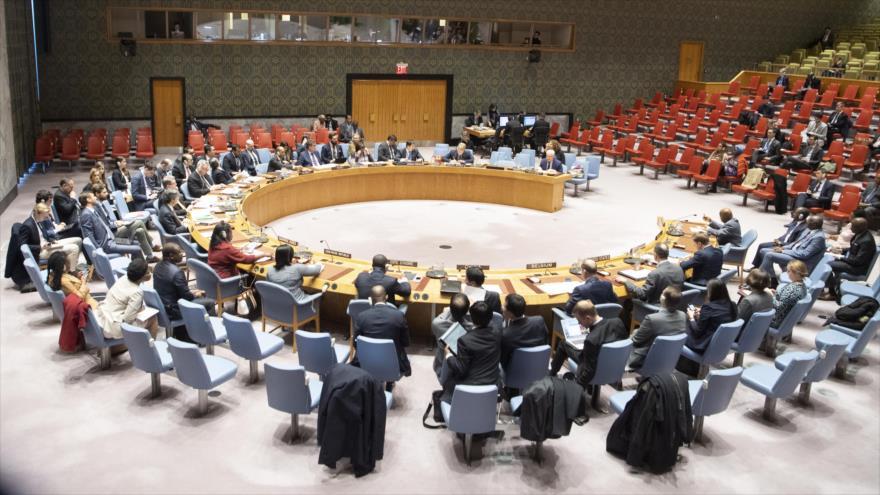 Sesión del Consejo de Seguridad de Naciones Unidas (CSNU) en Nueva York, 27 de marzo de 2019. (Foto: ONU)