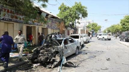 Explosión de coche bomba deja 15 muertos en Somalia
