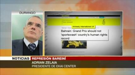 Zelaia: Baréin utiliza medios occidentales para lavar su imagen