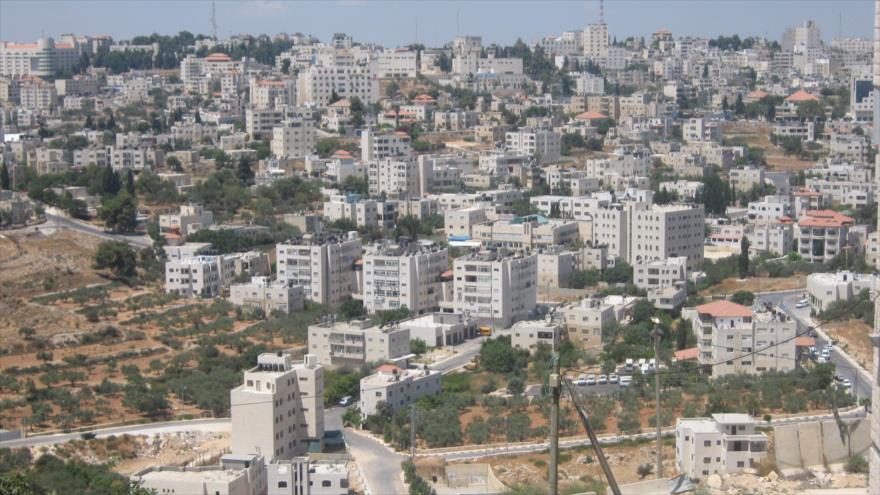 Una vista panorámica del asentamiento ilegal israelí Beit El, en la Cisjordania ocupada.