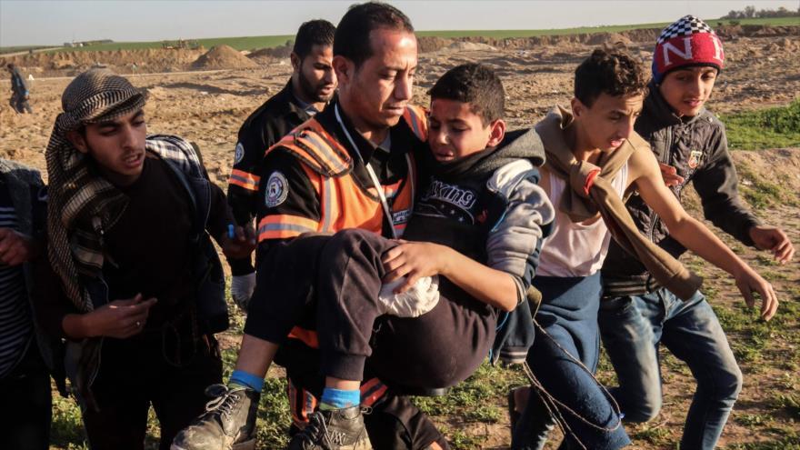 Unicef: Israel asesinó en 12 meses a 40 niños palestinos en Gaza | HISPANTV