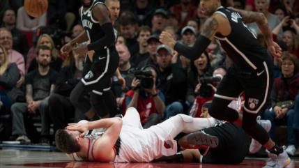 Vídeo: Jugador de la NBA Nurkic sufre una aterradora lesión