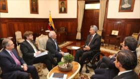Moreno apoya a España en polémica con México por la conquista