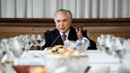 Nuevo caso de corrupción salpica a Michel Temer
