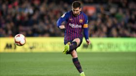 Escogen gol de Messi como el mejor de la historia del Barcelona