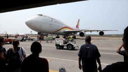 Vídeo: Llegan a Venezuela 65 toneladas de medicinas desde China