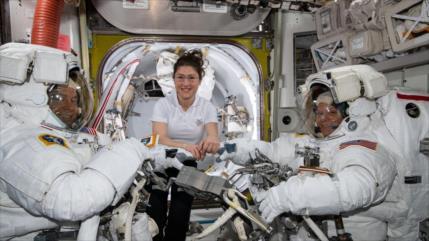 Rusia desarrolla lavadora para la Estación Espacial Internacional