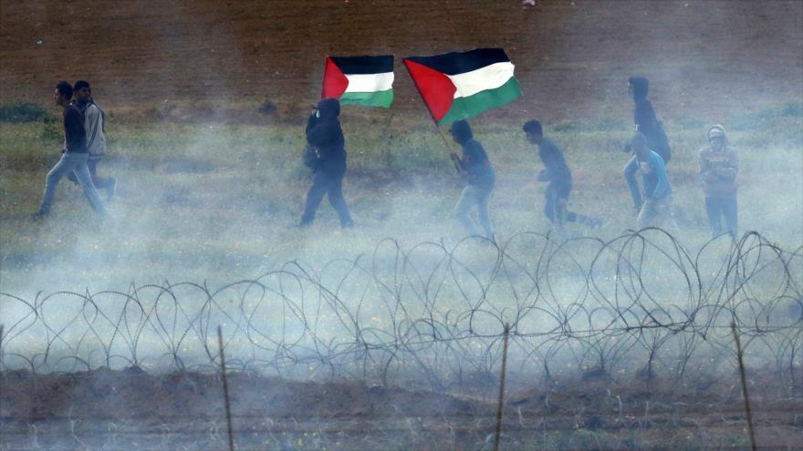 Fuerzas israelíes matan a 4 palestinos en masiva protesta en Gaza | HISPANTV