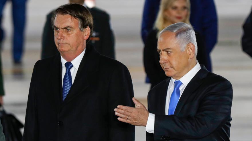 OLP critica agenda anti-Palestina de Bolsonaro en territorios ocupados | HISPANTV