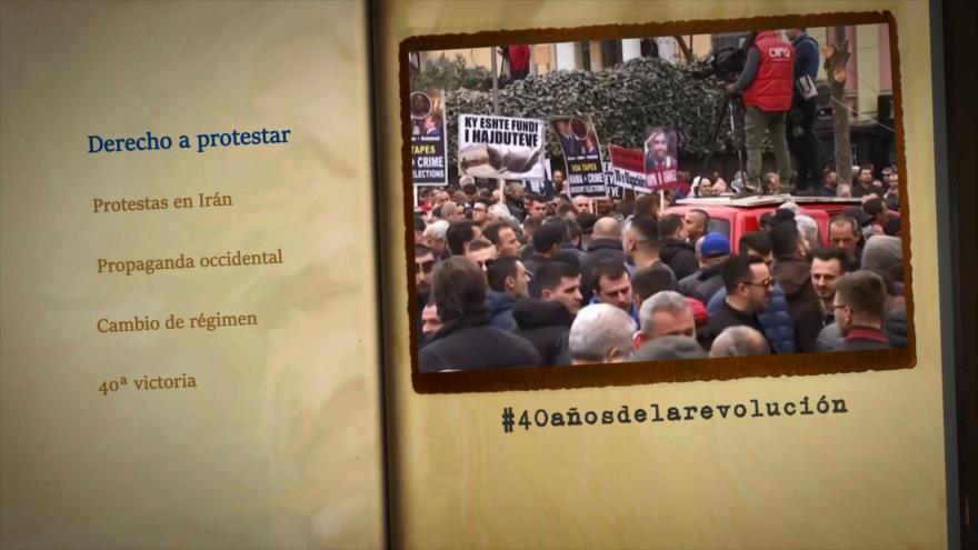 Retos y logros de una Revolución: Derecho a protestar