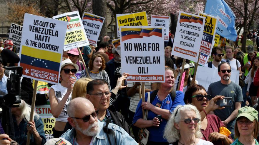 Gobierno de Venezuela alaba apoyo de movimientos sociales de EEUU