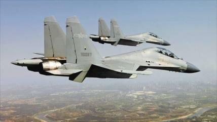 Dos bombarderos chinos sobrevuelan el estrecho de Taiwán