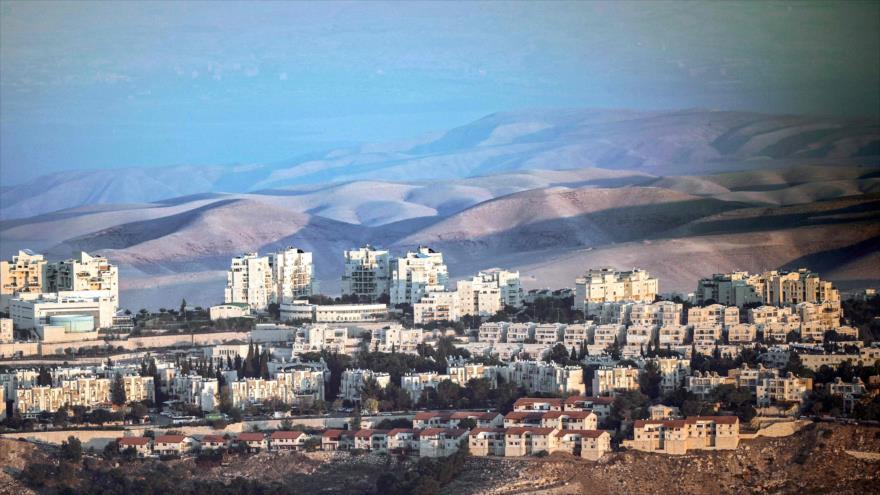 Vista general del mayor asentamiento ilegal israelí Maale Adumim, en la ocupada Cisjordania, 17 de noviembre de 2018. (Foto: AFP)