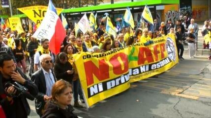 Chilenos exigen cambios al sistema de pensiones