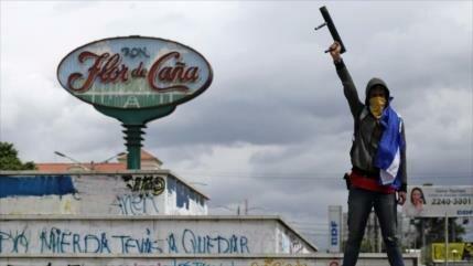 """Nicaragua repudia ataques de """"grupos violentos"""" a civiles"""