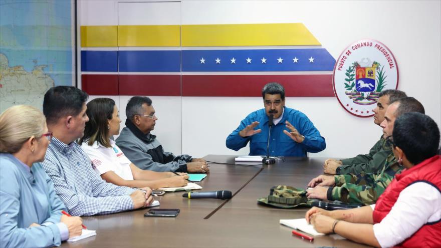 Maduro: Apagones son por los virus de EEUU en la red eléctrica | HISPANTV