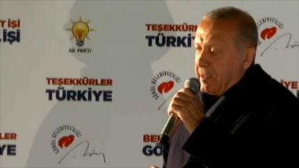 El partido AKP de Erdogan pierde apoyo en las elecciones locales