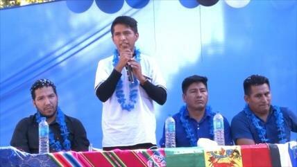 """Lanzan la campaña """"Evo 2020"""" en Argentina para apoyar a Morales"""