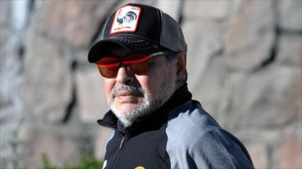 Maradona dedica a Maduro la victoria de su equipo