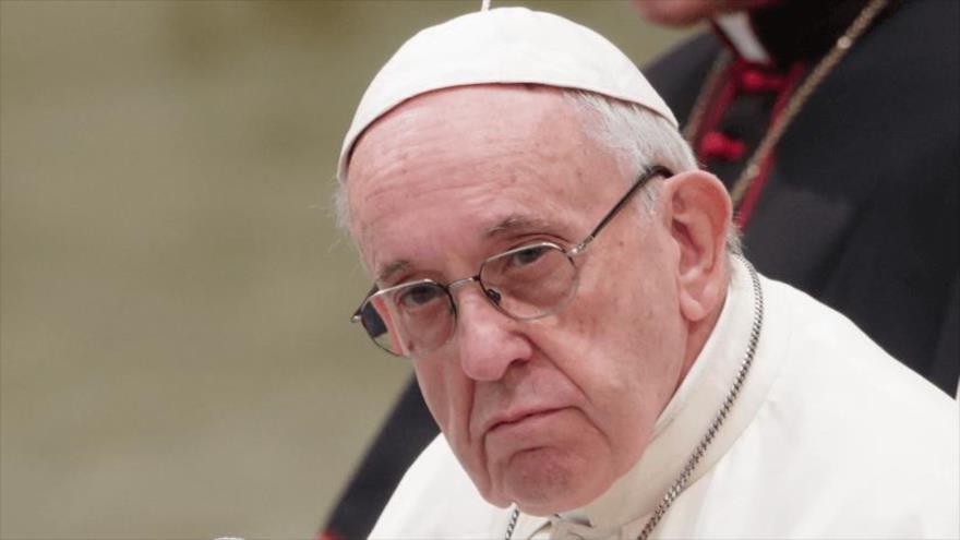 EL papa Francisco en una misa en la Capilla Sixtina. 14 de enero de 2019.