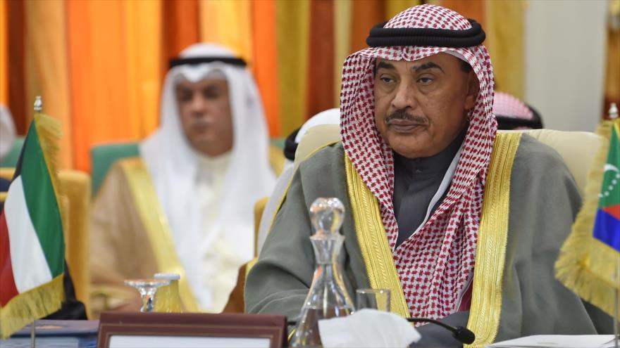 El vice primer ministro de Kuwait, Sabah Jaled Al-Hamad Al-Sabah, en una reunión en Túnez, 29 de marzo de 2019. (Foto: AFP)
