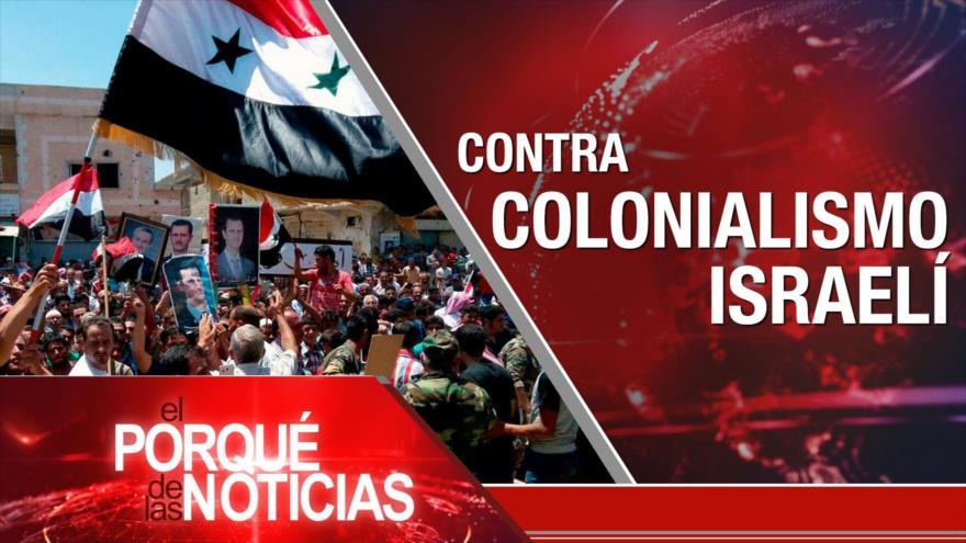El Porqué de las Noticias: Indignación contra ocupación. Brexit en caos. Paz en Colombia fracturada