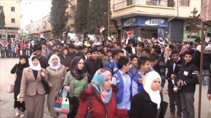 Sirios rechazan decisión de EEUU sobre altos del Golán
