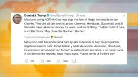 Donald Trump ordena cortar ayuda económica a Honduras