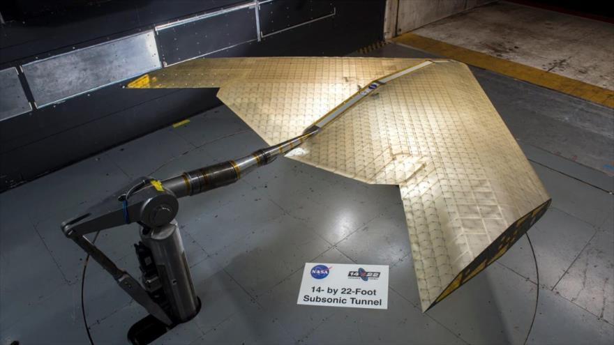 La nueva ala diseñada por los ingenieros del Instituto Tecnológico de Massachusetts (MIT) y la NASA.