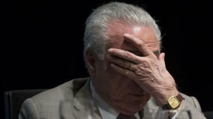 Fiscalía de Brasil solicita que Temer vuelva a prisión