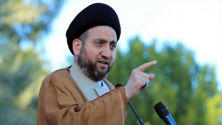 El líder del Movimiento de Sabiduría Nacional de Irak, Seyed Amar al-Hakim.