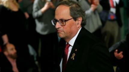 Justicia catalana imputa a Quim Torra por 'desobediencia'