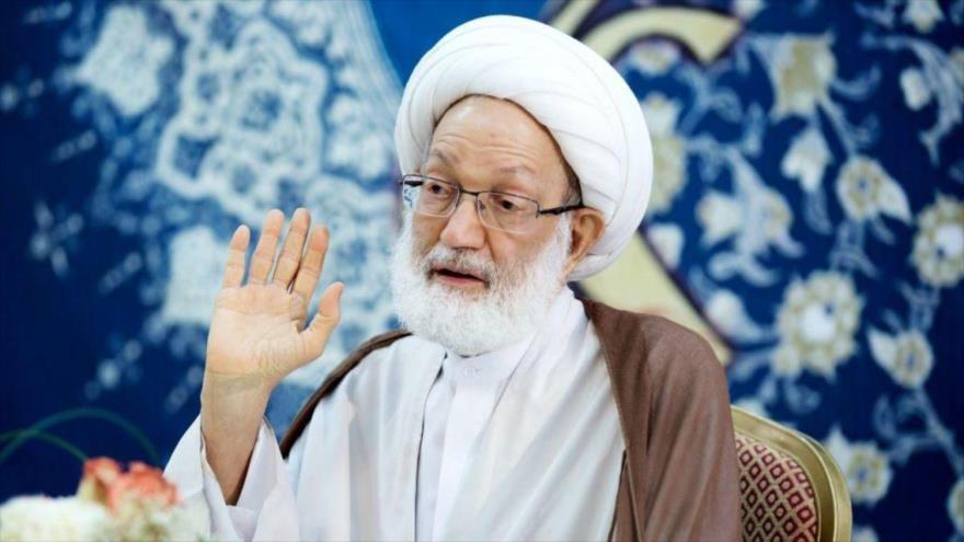 El clérigo chií de Baréin el sheij Isa Ahmad Qasem.