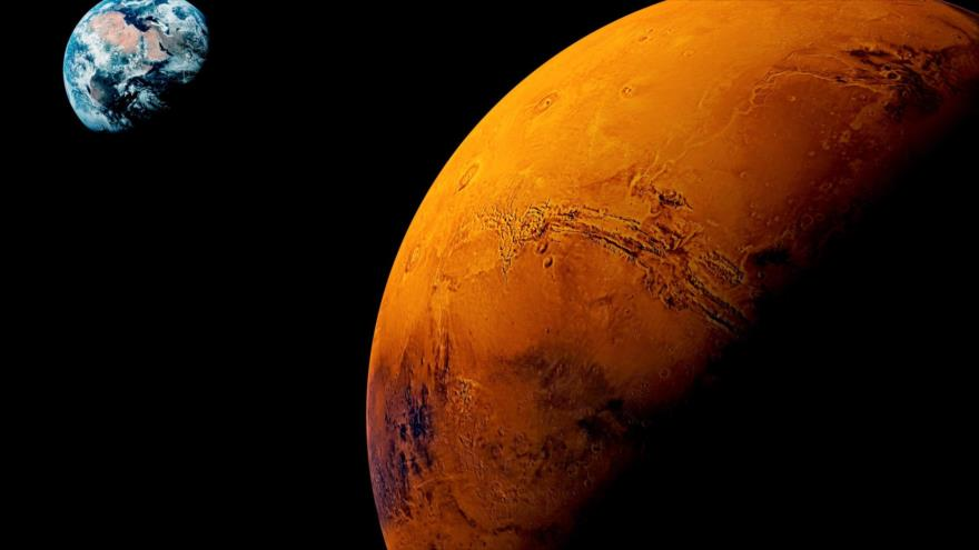Descubrimiento de una bacteria en Marte muestra que la vida en este planeta puede ser posible.