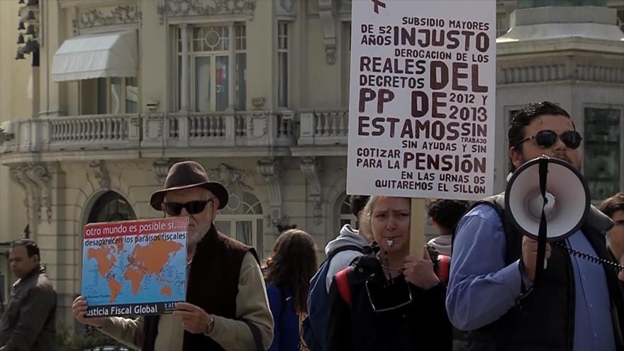Lucha contra la evasión fiscal en España