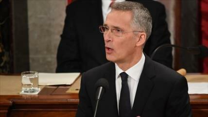 Secretario general de la OTAN tilda a Rusia de una 'amenaza'