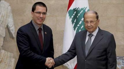 Arreaza realiza una gira a Oriente Medio con una postura anti-EEUU