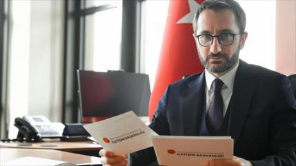 Turquía advierte a EEUU que no interfiera en sus asuntos internos