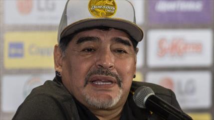 Investigan a Maradona por comentarios sobre Maduro y Trump