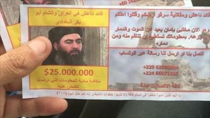 Irak ofrece recompensa de $ 25 millones por el líder de Daesh