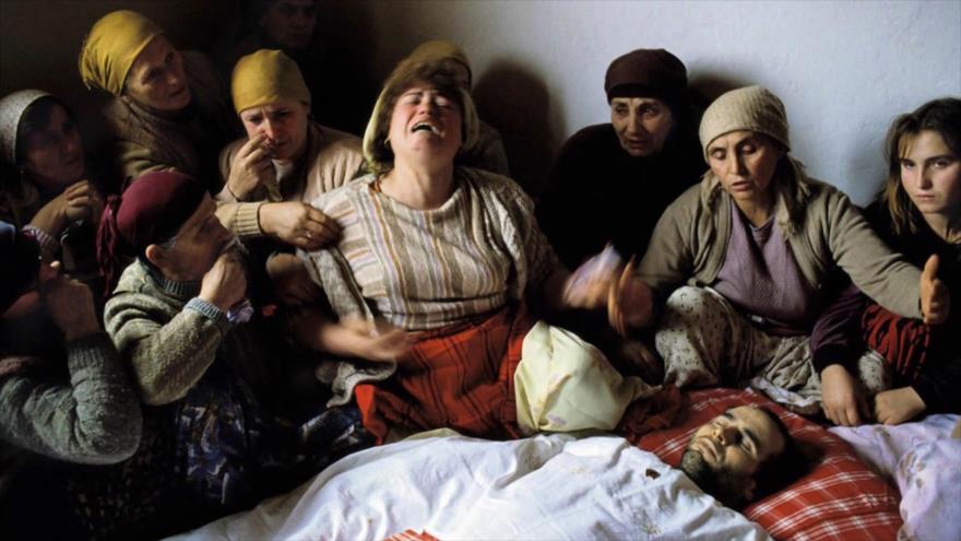 Fotos que sacuden al mundo: Muerte por la Autonomía de Kosovo