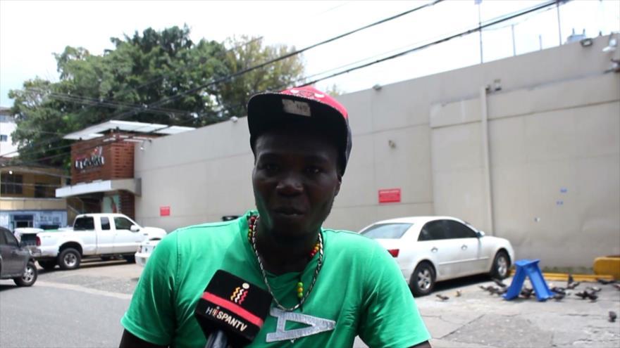 Haitianos en Santo Domingo preocupados por protestas en su país