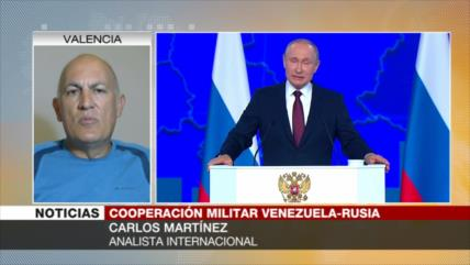 Martínez: Cooperación militar entre Venezuela y Rusia es legítima