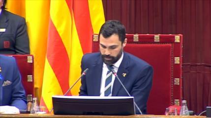 Parlamento de Cataluña insta a Quim Torra a convocar elecciones