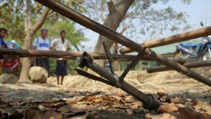 Ataque aéreo de Ejército birmano mata a cinco rohingyas en Rajine