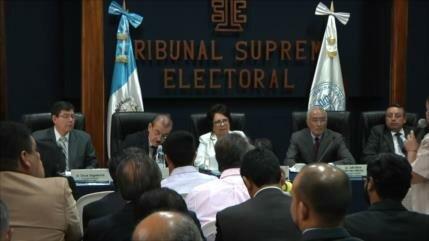22 partidos políticos se disputan la Presidencia en Guatemala